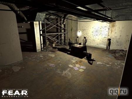 Скачать F.E.A.R. Resurrection/Воскрешение MOD (2010/RUS/PC/ADDON) мод + игр