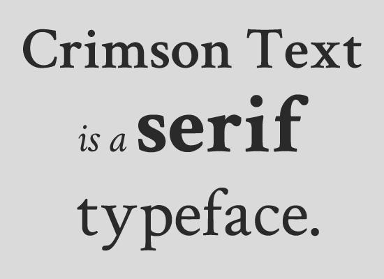 У шрифтов с довольно засечками много