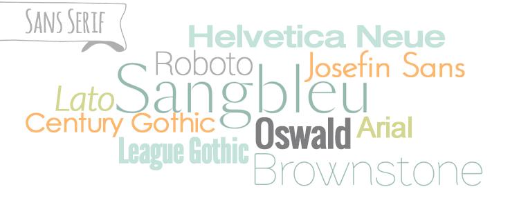 Ii шрифты без засечек рубленые шрифты